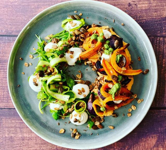 Forkful Food Carrot Salad