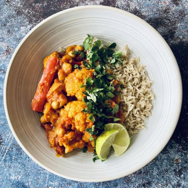 Forkful Food Cauli Curry