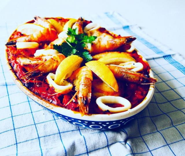 Forkful Food Paella