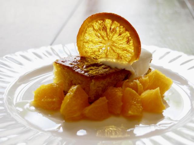 Forkful Food Polenta cake