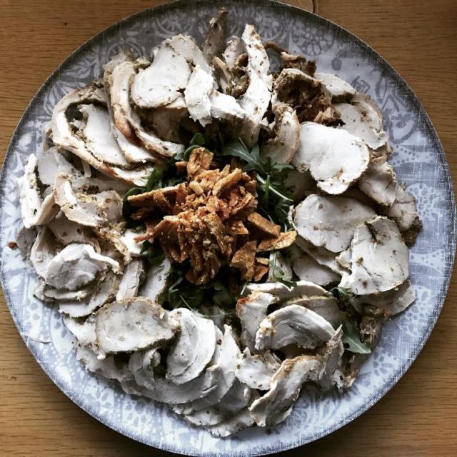 Forkful Food Porchetta