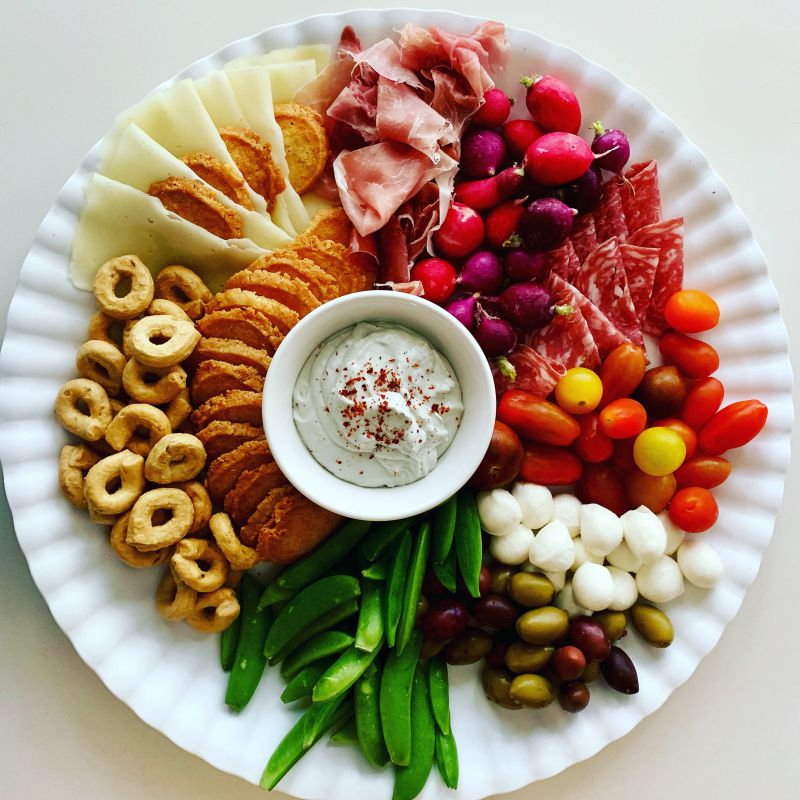 Forkful Food Small Grazing Platter